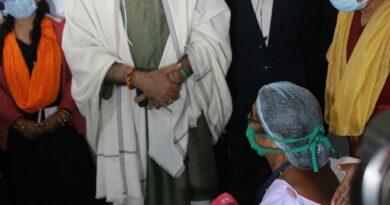 रायपुर : कोरोना वैक्सीन कोविड-19 से जंग के लिए प्रभावी हथियार है- स्वास्थ्य मंत्री श्री टी.एस. सिंह देव